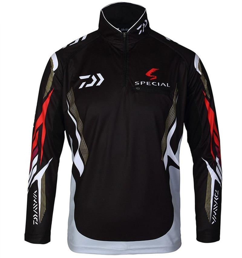 2016 Plus Size 4XL daiwa fishing shirt outdoor sportswear fishing sun protection jersey fishing tackles angler
