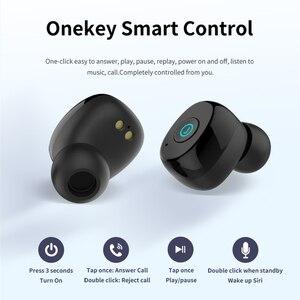 Image 3 - AWEI TWS prawdziwe bezprzewodowe wkładki douszne Bluetooth 5.0 1800mAh Power bank Mini 3D słuchawki Bluetooth słuchawki z podwójnym mikrofon do telefonu