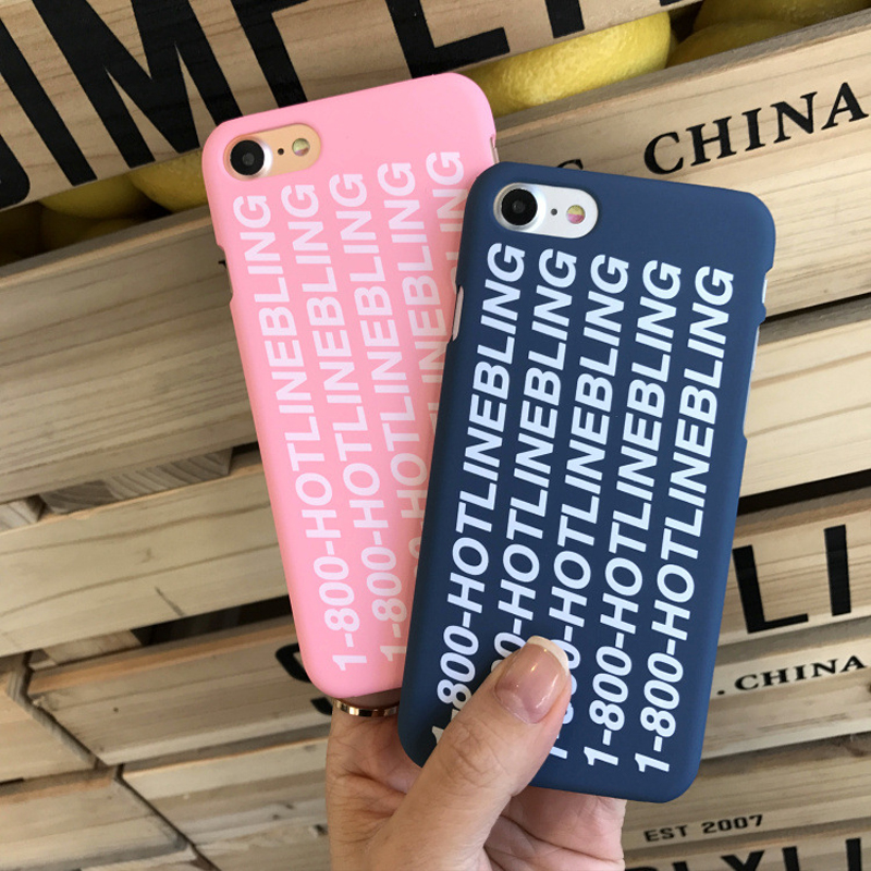 newest 0bd92 2c675 US $1.99  Poor Crying Drake Hotline Bling Case Cover For Apple iPhone 6 6S  7 Plus Phone Case For iphone 5 5S 5SE Case Hard PC Scrub Fundas-in Fitted  ...