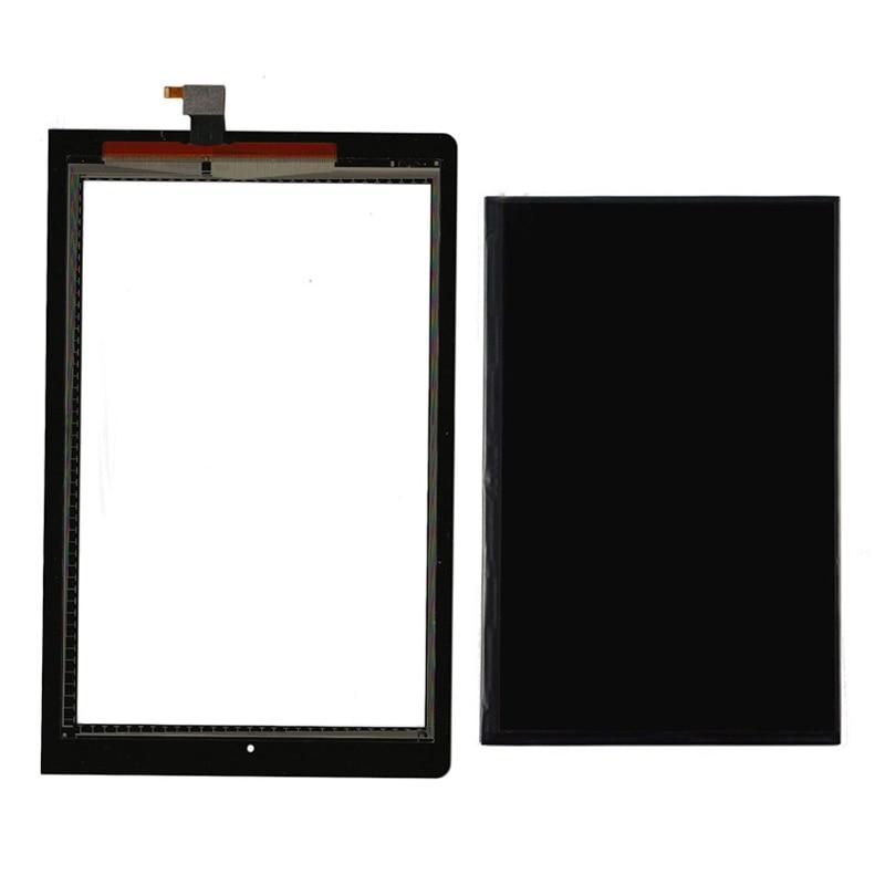 For Lenovo B8000 Yoga Tablet 10 60047 Black Touch Screen Digitizer Sensor Glass + LCD Di ...