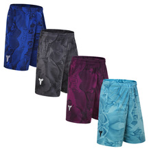 Wholesale basketball sports shorts five black Mamba loose large size over the knee speed dry breathable running