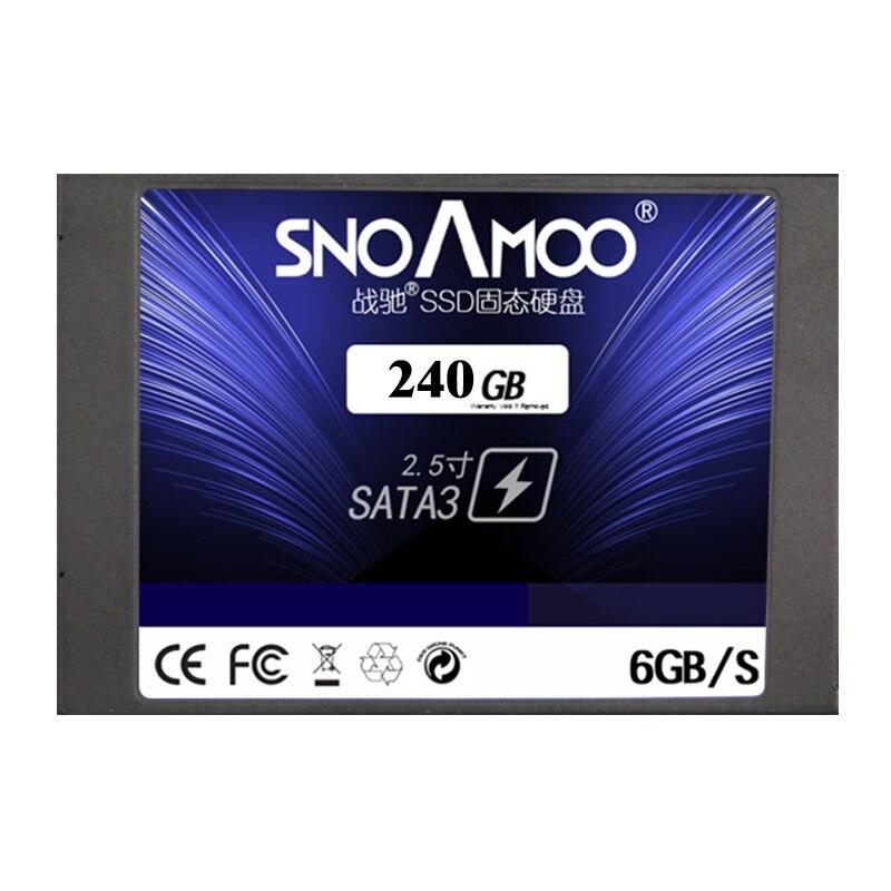 SNOAMOO ssd disque dur pour ordinateur portable à l'état solide disque dur ssd 240 gb 480 gb 120 gb 60 GB disque dur 2.5 sata interne