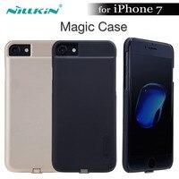 Nillkin Magic Case voor iphone 7 Nilkin Qi Draadloze Oplader Ontvanger Case Cover Power Opladen Zender Voor iphone 7 (4.7 '')