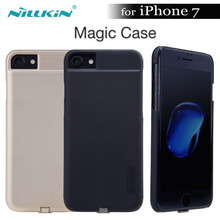 Nillkin קסם קייס לאייפון 7 Nilkin צ י מטען אלחוטי מקלט מקרי כיסוי כוח טעינת משדר לאייפון 7/7 בתוספת