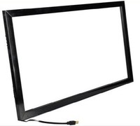 69.5 inch 10 points infrared multi touch screen overlay kit/screen touch panel/Fast Shipping. Transparency and high resolution