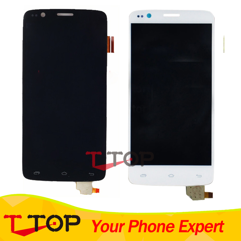 LCD Assembly Replacement For Fly IQ4409 Era Life 4 LCD Display Touch Screen Panel Digitizer 1PC/Lot