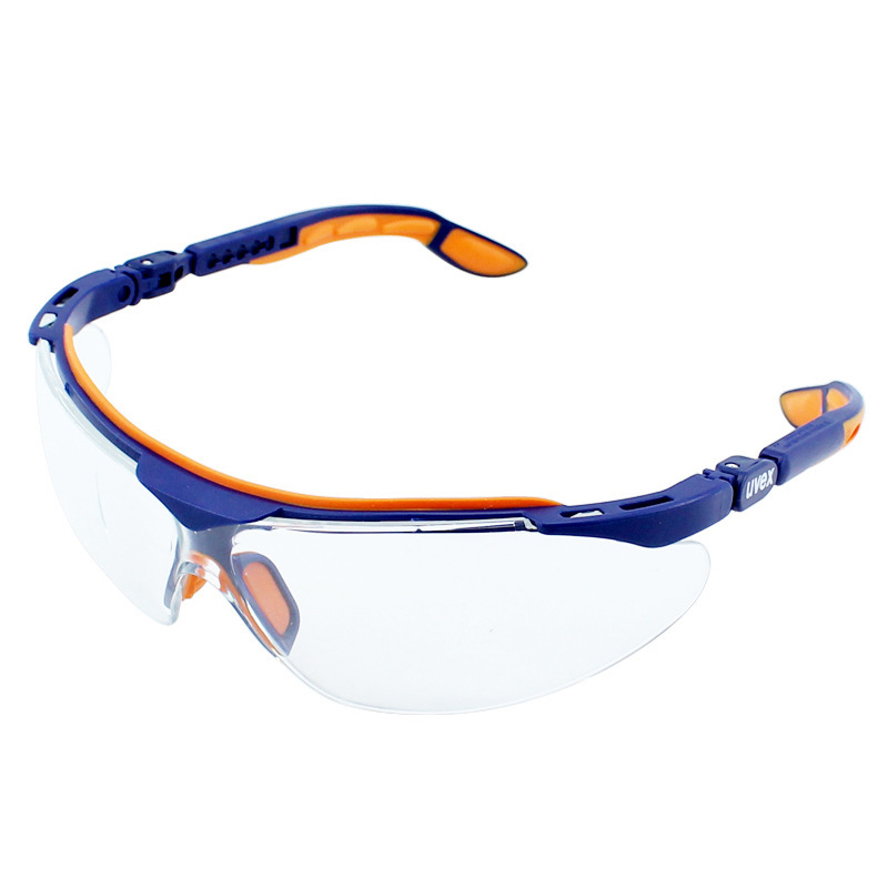 UVEX Safety Goggles Transparent Anti-impact Protective Eyeglasses Anti-fog Anti-Sand Windproof Wear-resistant Goggles Eyewear uvex safety goggles transparent pc lens wear resistant anti impact protective eyeglasses anti fog dustproof work riding goggles