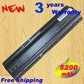 5200 MAH 6CELLS nueva baterías de portátiles para HP Pavilion G4 G6 G7 CQ42 CQ32 G42 CQ43 G32 DV6 DM4 430 baterías 593553-001 MU06