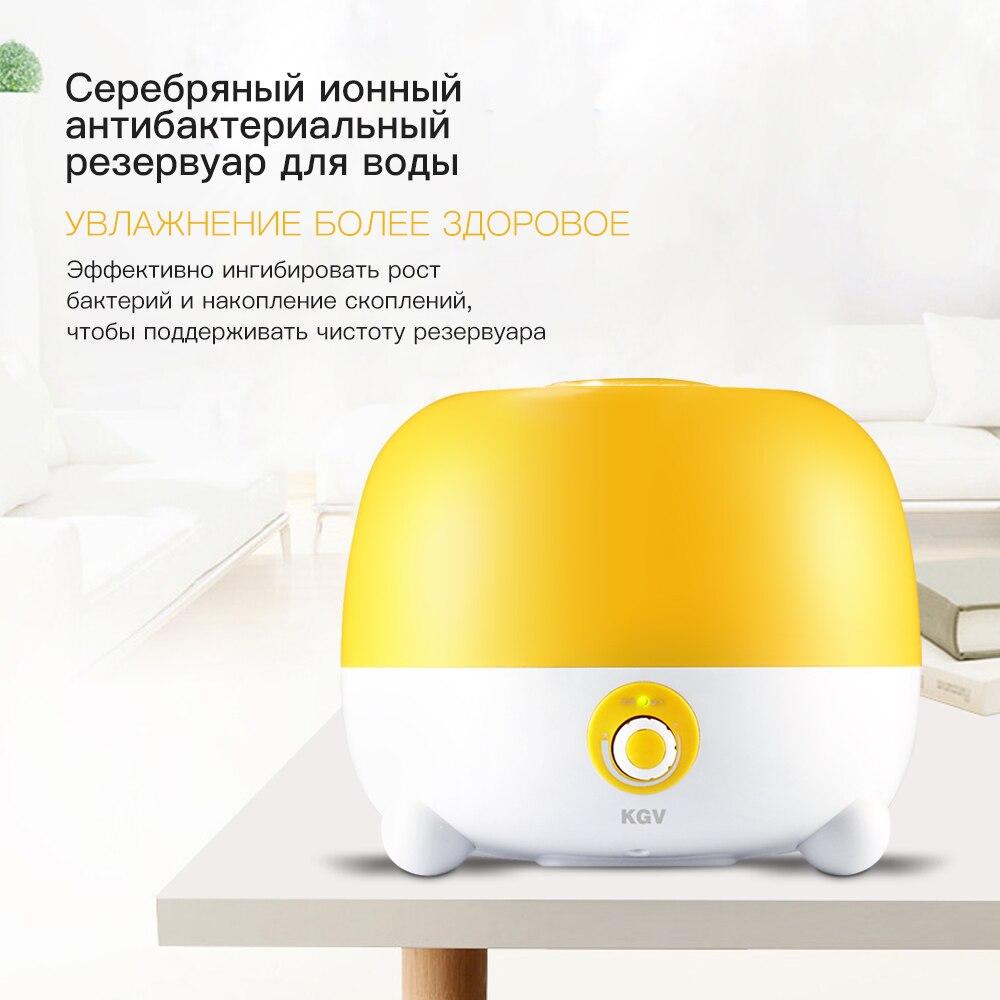KGV ultrasonic humidifier mist maker for home yoga nano