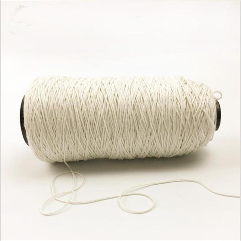 500 Metre White French Linen Threa Spool Haberdashery Natural Handspun Jute Yarn Twine Thread For Crochet Knitting Gift