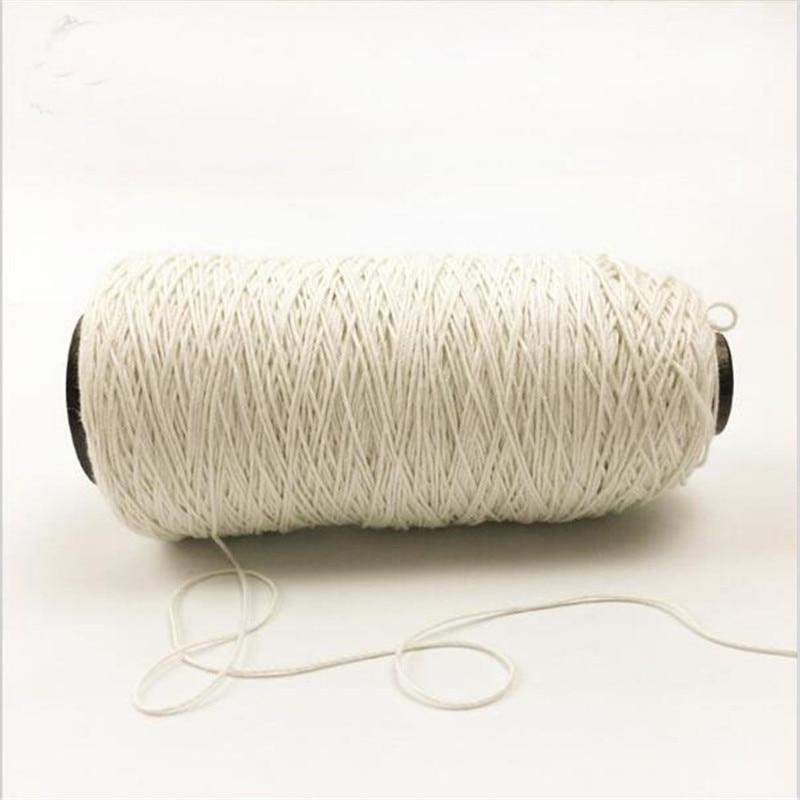 500 Metre White French Linen Threa Spool Haberdashery Natural Handspun Jute Yarn Twine Thread For Crochet Knitting Gift