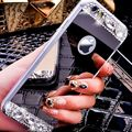 KISSCASE For iPhone 5 5s SE Cases Luxury Mirror Glitter Diamond TPU Case For iPhone 5 5 s se Soft Silicone Slim Thin Back Cover