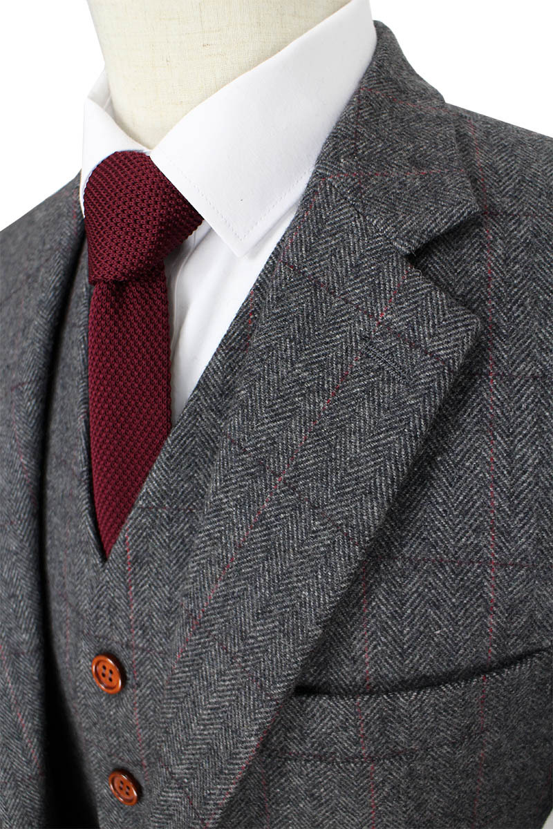 Online Get Cheap Grey Herringbone Suit -Aliexpress.com | Alibaba Group