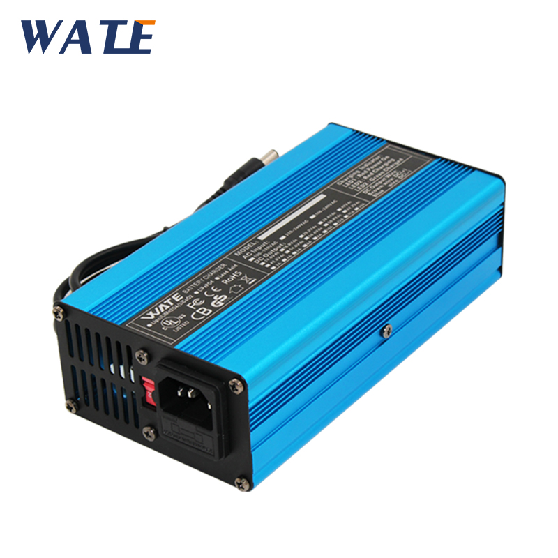 58.4V 4A Intelligent LifePO4 Battery Charger For 16S 48V Lifepo4 Battery