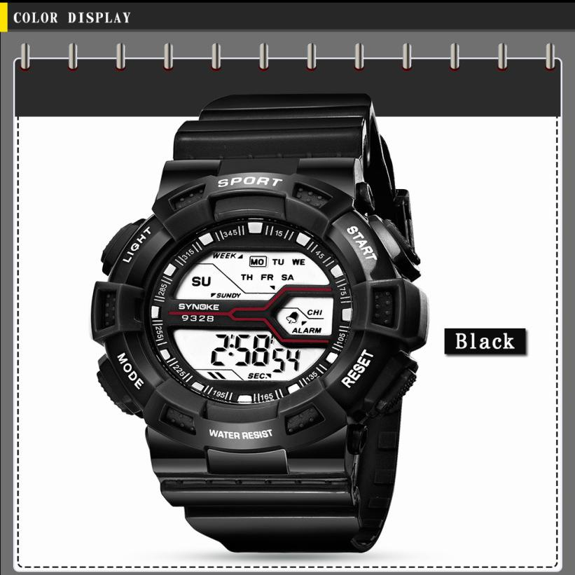 Bblack  Children Girls  Women Fashion Crystal Sports Watch Multifunction Student Waterproof LED Digital Date Wristwatch  H04195