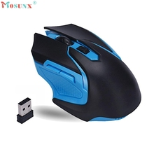 Adroit 2016 New 1PC Fashion Optical 2.4GHz Wireless Gaming Mouse Mice For PC Computer Laptop JUN23 drop shipping
