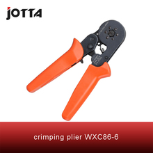 WXC86-6 crimping tool crimping plier 2 multi tool tools hands Mini-Type Self-Adjustable Crimping Plier fsb 054yj 0 5 1 5 1 5 2 5 4mm super strength saving mini type crimping plier