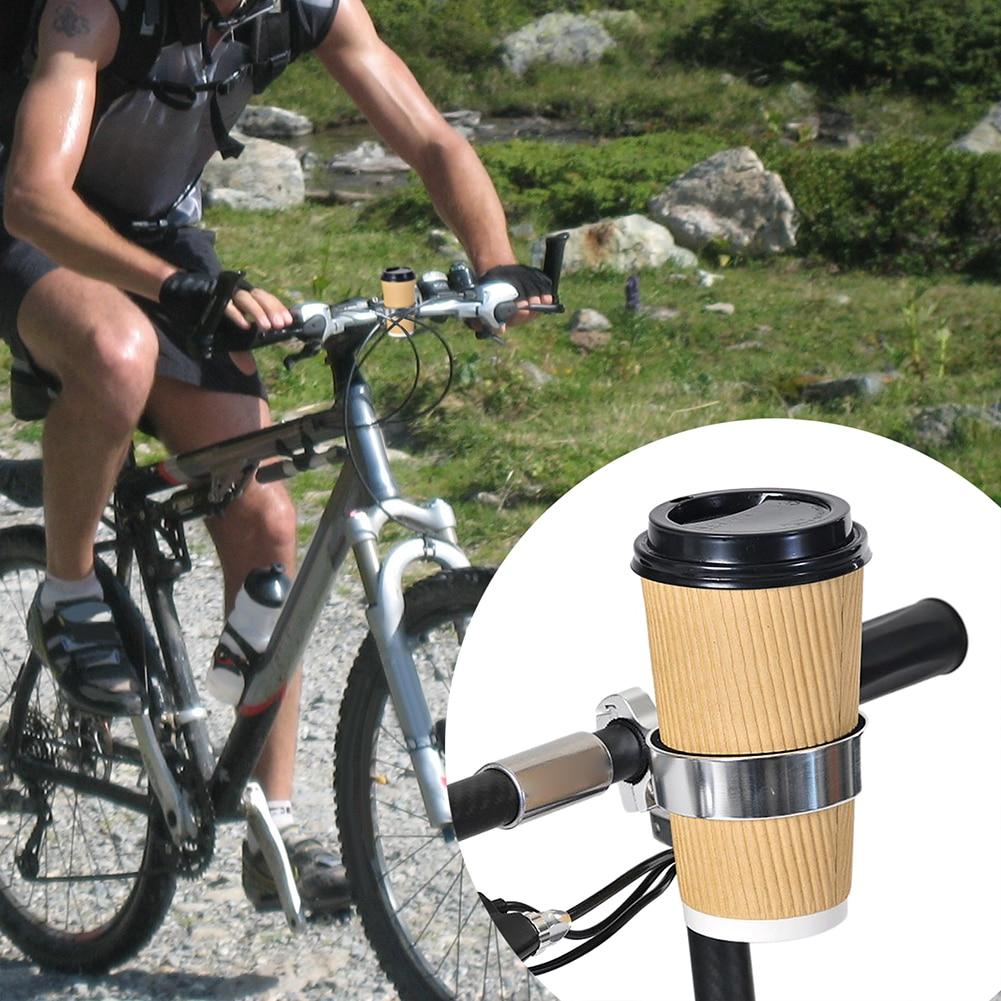 Bicycle Cup Holder Bike Tea Milk Coffee Drink Cup Holder Handlebar Mount Cycling