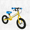 12 Inch BERG Kids Balance Bicycle, Steel Frame For 2-7 Age Above 90 CM Kids Use, 2 Color Available