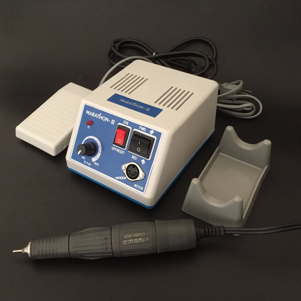 Image 5 - Dental LAB Marathon N3 Micromotor Micro motor 35,000RPM Handpiece Lab Equipment UE SDE H37L1 35K rpm handpiece-in Teeth Whitening from Beauty & Health
