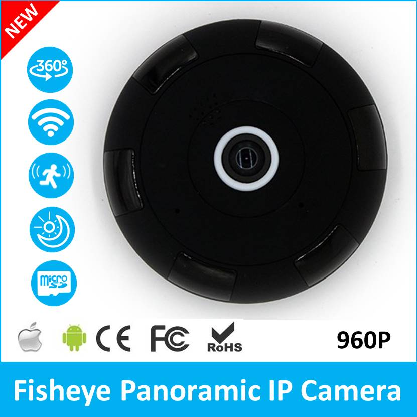 Panorama Camera 360 Degree 960P IP Camera with Audio Mobile APP Remote View Plug and Play 64GB TF Card Storage panoramic camera 360 degree dome hd 3 0mp ip vr camera wireless wi fi ip camera with audio mobile app remote view plug and play