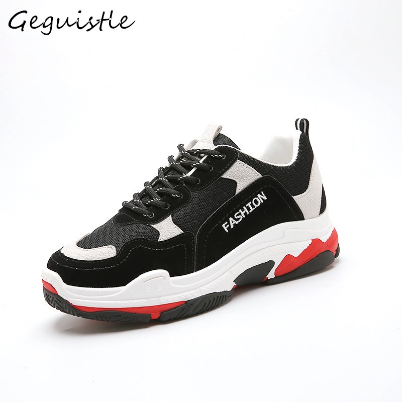 Spring/Autumn Comfortable Women Shoes Fashion Mixed Colors Casual Shoes Female Trendy Sneakers
