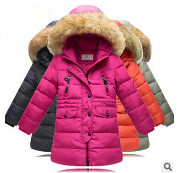 50931946e0bb 2014 winter clothes children girls long down jacket down jacket ...