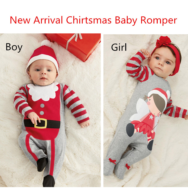2017 Girls Christmas Clothes 2pcs Baby boys christmas ...