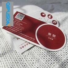 Деловой костюм оба/двухсторонняя Золотая/серебряная фольга карты печать на заказ материал 500gsm черная бумага высокого качества MP012-4