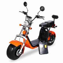2019  sea transportation Free shipping    Stylish high quality double Harley electric car Scooter.
