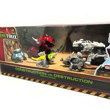 Para Caminhão Carro de Brinquedo Removível Dinossauro Dinossauro Dinotrux Mini Modelos Novos das Crianças Presentes Brinquedos Dinossauro Modelos Mini Brinquedos da criança