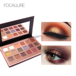 Focallure Brand shimmer eye shadow makeup Long-lasting pigmented eyeshadow palette maquillage yeux