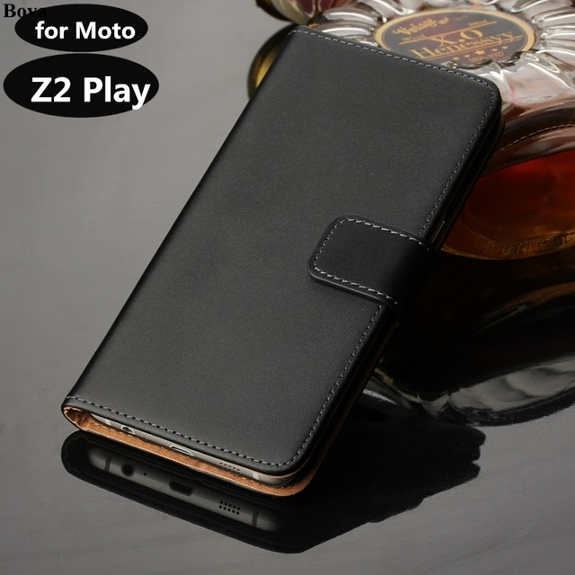 online store de1c6 d64ad US $7.44 |Premium PU Leather Wallet Flip Case for Motorola Moto Z2 Play  XT1710 XT1708 Cover Case Card Slots Cash Holder GG-in Flip Cases from ...