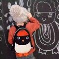 Nueva Lindo Pingüino Mochila Arnés de Seguridad Del Niño Del Bebé Mochila anti-perdida de Dibujos Animados Niño Caminar Al Aire Libre Bolsa de Correa de Seguridad A025-50