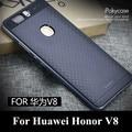 Original honor v8 ipaky case armadura quadro pc + silicone voltar case para huawei honor v8 telefone case for huawei honor v 8 case cobrir