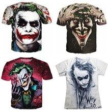 The Joker DC Comics Superhero 3D Print T-Shirt Women Men Summer Style t shirt Harley Quinn Carnage joker tee tops S-5XL R2374