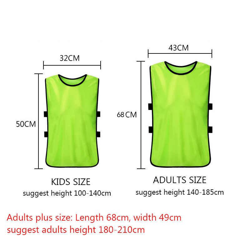 7409c62ac281 ... Onedoyee 5pcs Kids Children Team Training Scrimmage Vests Soccer  Basketball Team Vest Pinnies Jerseys Child Training ...