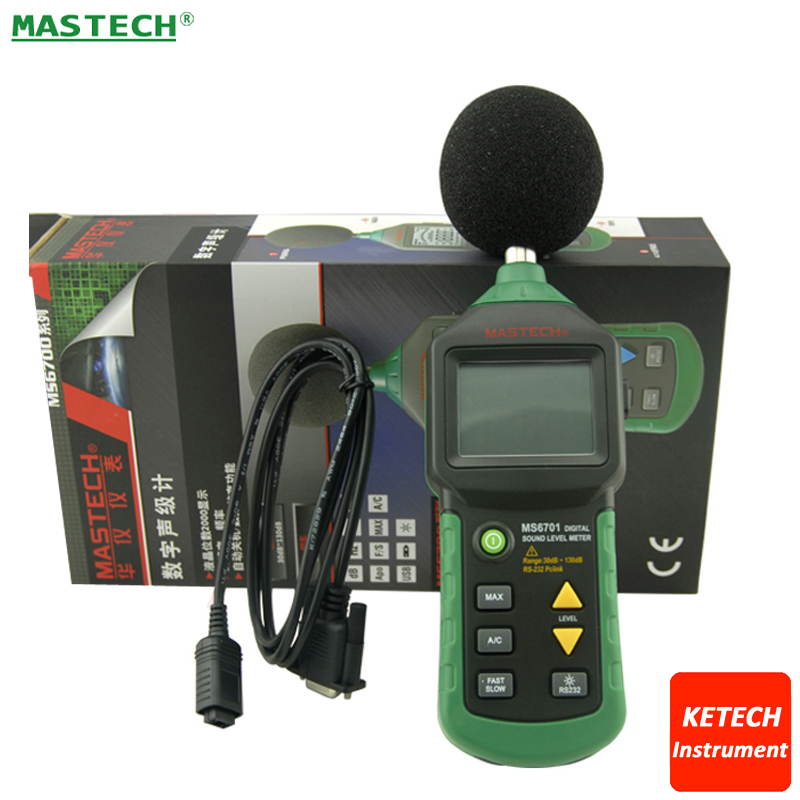 MASTECH MS6700 Autoranging Digital Sound Level Meter Tester 30dB to 130dB nokia 6700 classic illuvial
