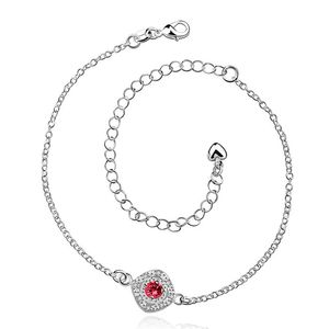 HOT! silver plated Anklets,925