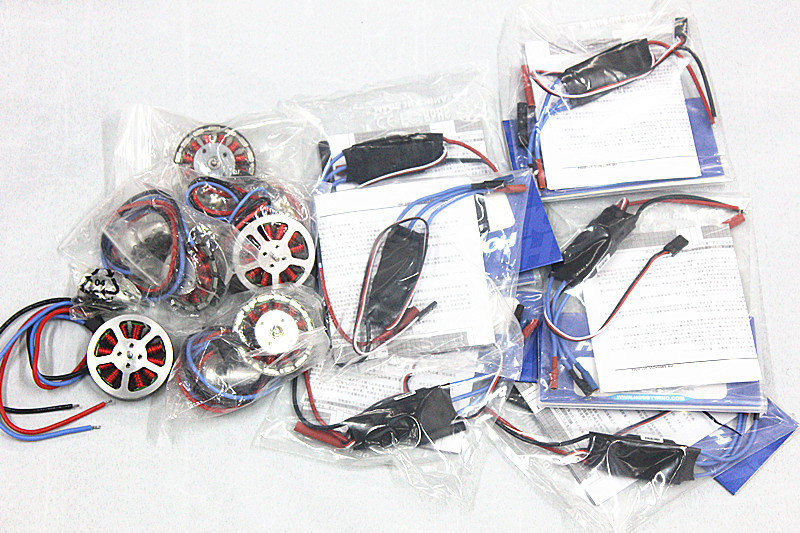 Platinum-30A-Pro 2-6S 30A Speed Controller ESC + 750KV Brushless Disk Motor high Thrust With Mount for DIY Quadcopter Drone free shipping 2pcs lot hobbywing platinum 30a pro 2 6s electric speed controller esc opto specially for multi rotor