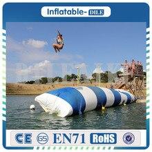 9x3 м надувной мешок для прыжков, воздушная струя воды blob, большие подушки воздуха для игры в воду(29,5 футов* 9,8 футов