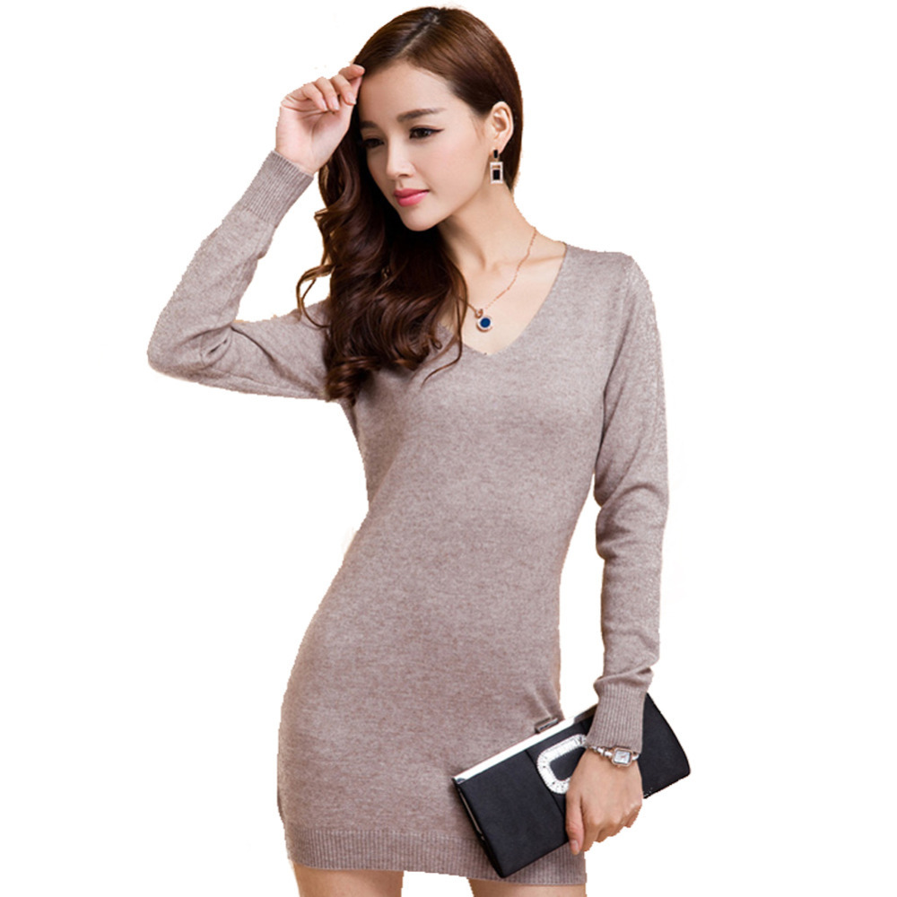 2016 hot sale cashmere wool long sweaters women sweater for Long sweaters and shirts