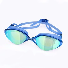 Brand New Professional Swimming Goggles Anti-Fog UV  Adjustable Plating  men women Waterproof  silicone glasses adult Eyewear