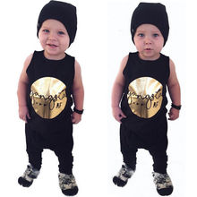 2Pcs Toddler Kids Summer Clothes Baby Boys Kids Vest T-Shirt Top + Long Pants Outfits Clothing Set 0-4Y