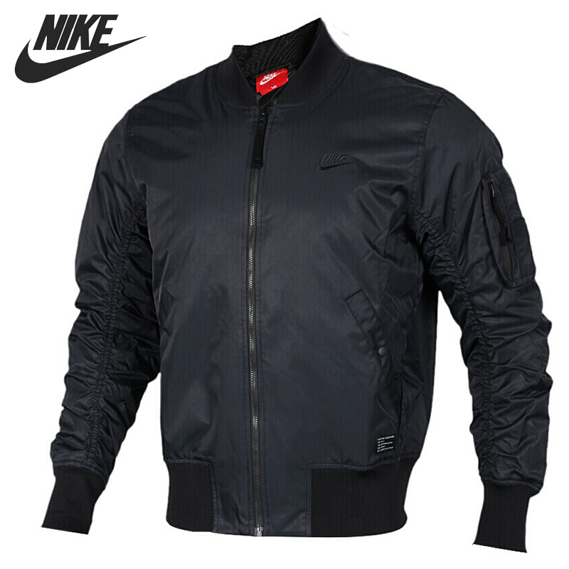 Original New Arrival 2017 NIKE AS M NSW JKT WVN AF1 Mens Cotton-padded Jacket Sportswear