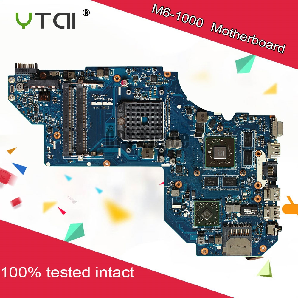 687229 501 for HP Envy M6 M6 1000 Motherboard M6 1000 AMD ...