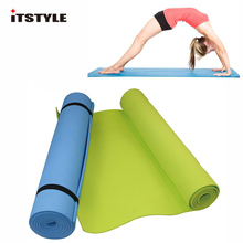 6MM Thick EVA Comfort Foam Yoga Mat for Exercise, Yoga, and Pilates(China)