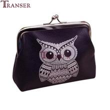 Transer 2018 New Fashion Animal uil print Womens Owl Wallet Kaarthouder Portemonnee Clutch Handtas drop shipping A30