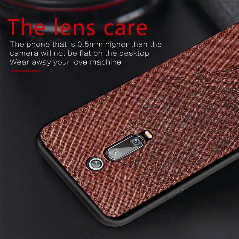 Pour Xiaomi Mi 9T 8 Lite Note 10 CC9 Pro étui en tissu antichoc étui de téléphone pour Xiaomi Mi 9T Pro couverture Redmi 8 A 7 K20 Pro K30 étui