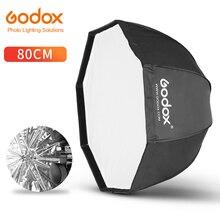Godox 80cm 31.5in 휴대용 옥타곤 소프트 박스 플래시 스피드 라이트 스피드 라이트 우산 소프트 박스 Brolly Reflector (Softbox Only)